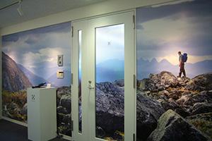北欧スタイルのショールーム兼オフィス