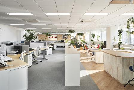 オフィス内装工事・造作工事サービスイメージ