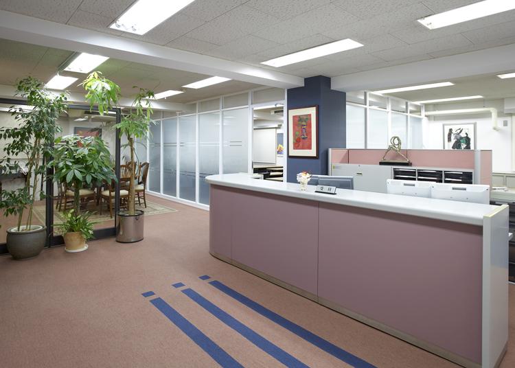 ウェルカムで居心地のよいコンサルティングオフィス