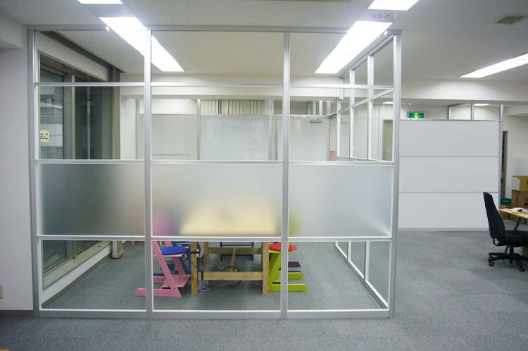 透明感のある空間