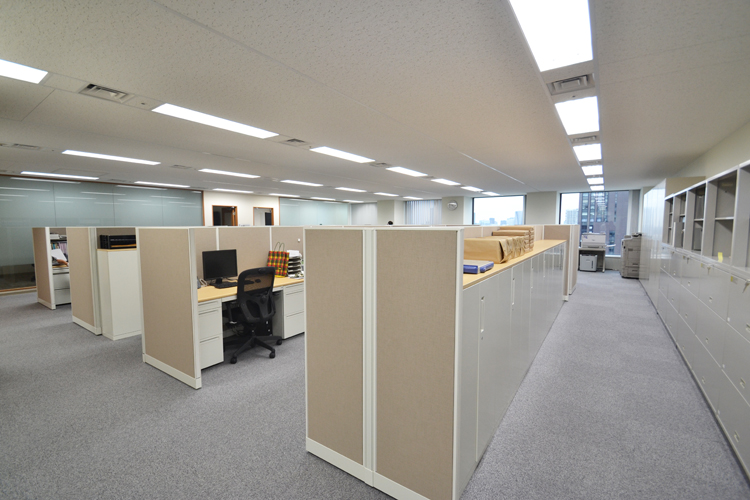 心地良さとゆとりを与えるオフィス