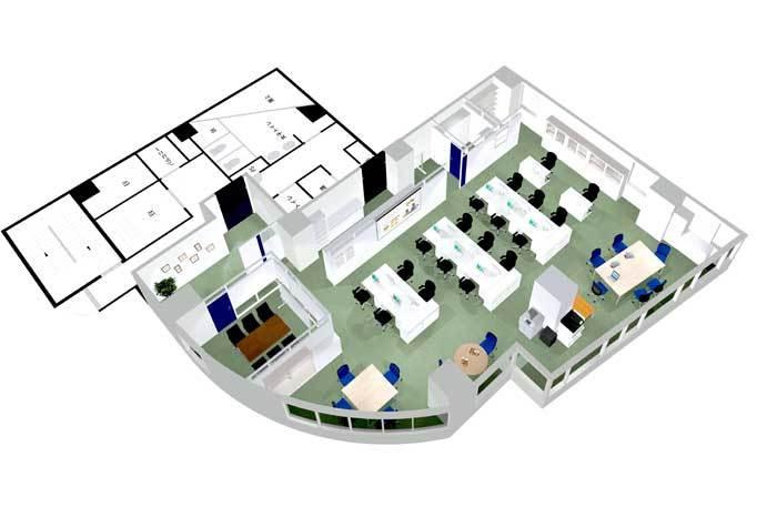 オフィスデザインにおけるアイデアの生み出し方