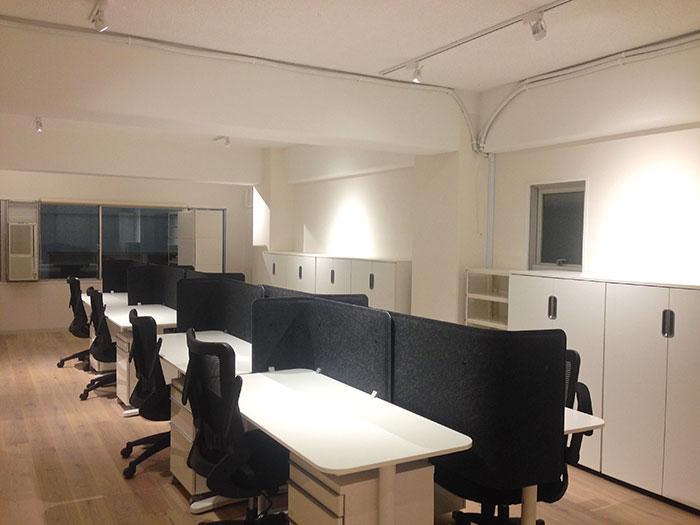ショールームを兼ねた魅力的なオフィスデザイン
