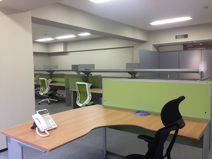 来訪者を優しく迎えるオフィスデザイン
