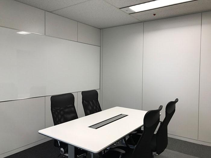 ビル指定工事のマネジメントと合わせて行ったオフィスデザイン事例