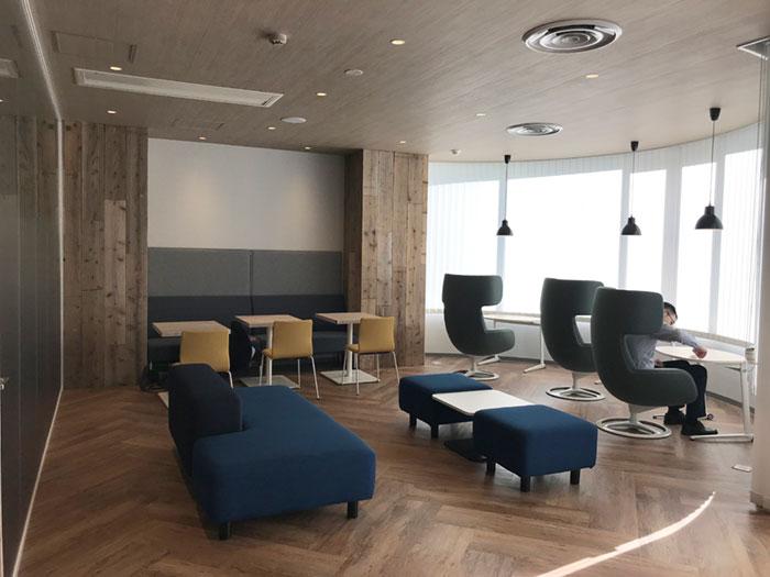 社員が働きやすい環境を整えたい…そんな思いをカタチにしたオフィスデザイン