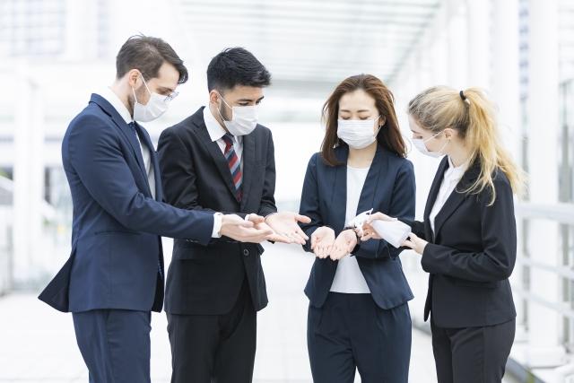オフィスでコロナ対策!感染予防に役立つ4つのアイテムをご紹介
