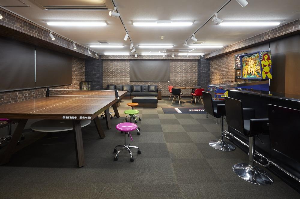 社員が思わず立ち寄りたくなる、遊び心満載のオフィスリフォーム事例