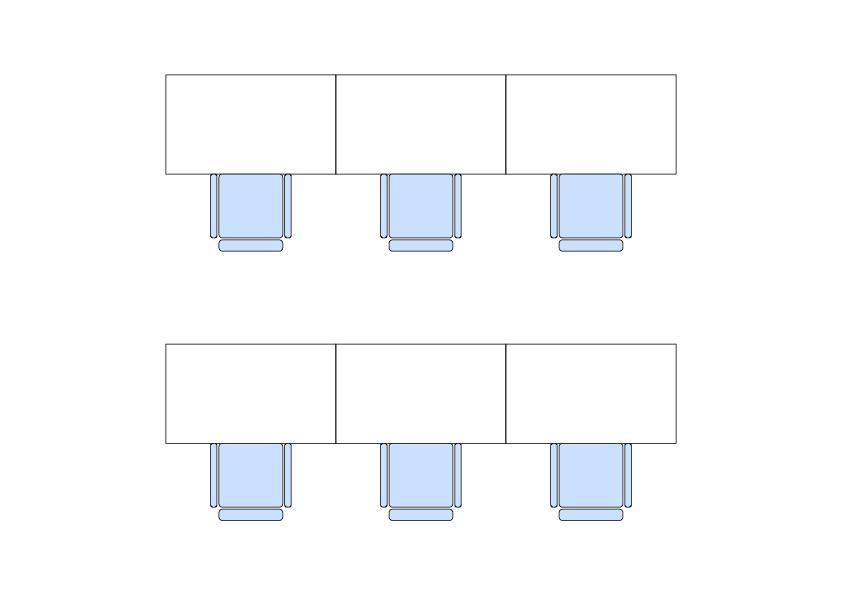 オフィスレイアウトパターン6選!デスク配置見直しで業務効率アップ!